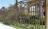 pictures of Steel Fences Florida