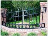 pictures of Steel Fences Gardens