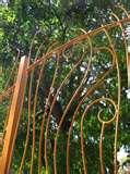 Steel Fences For Gardens pictures