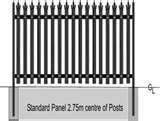 images of Steel Fencing Posts Sizes
