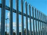images of Steel Palisade Security Fencing