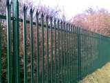 pictures of Steel Palisade Security Fencing