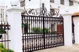 pictures of House Steel Fences Design
