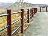 photos of Steel Pipe Fencing