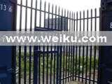 photos of Steel Palisade Fence