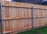Steel Post Fence pictures