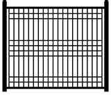 All Steel Fence