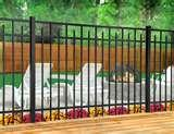 pictures of Steel Ornamental Fence