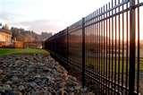 pictures of Ornamental Steel Fencing