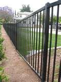 photos of Tubular Steel Fence