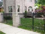 pictures of Aluminum Or Steel Fence