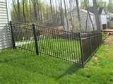 pictures of Steel Fence 42-inch