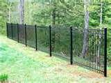 Aluminum Or Steel Fence pictures