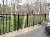 Aluminum Or Steel Fence images