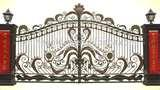 Steel Fence And Gate