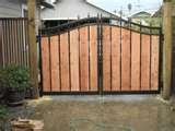 pictures of Steel Fence And Gate Designs
