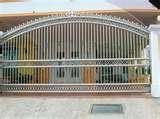 photos of Steel Fence And Gate Designs