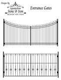 images of Steel Fence And Gate Designs