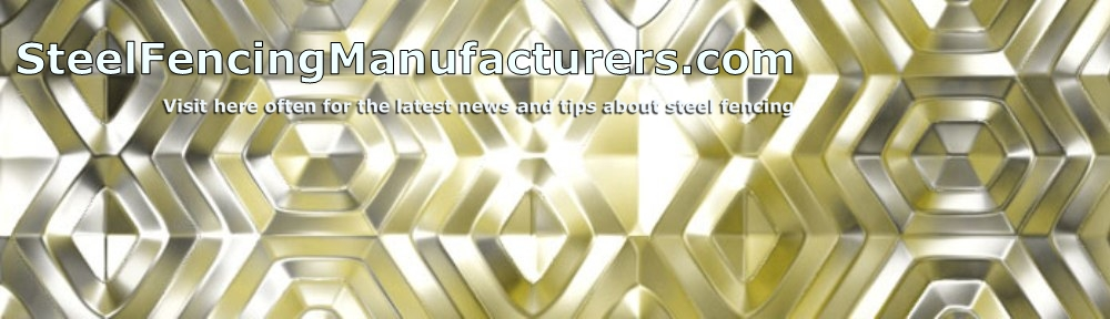 Steel Fencing Manufacturers