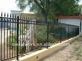 Pictures of Steel Fence Coating