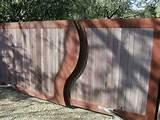 Photos of Cutting Steel Fence Posts