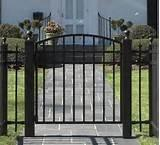 Steel Fence Driveway Images