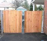 Pictures of Steel Fence Driveway
