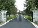 Photos of Steel Fence Driveway