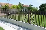 Steel Fence Doors Photos