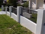 Steel Fence Driveway