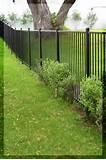Images of Steel Fence Driveway