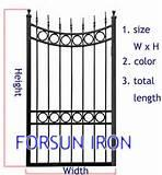 Steel Fence Dwg Images