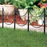 Steel Fence Edging Photos