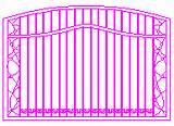 Steel Fence Dwg Pictures