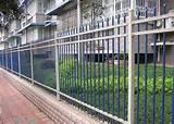 Steel Fence For A Building Images