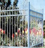 Steel Guard Fence Pictures