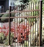 Pictures of Steel Guard Fence