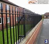 Steel Fence High Security Photos