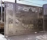Steel Fence Images Photos
