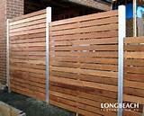 Photos of Steel Fence Horizontal