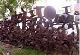 Steel Fence Industrial Photos
