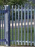 Images of Steel Fence Installation