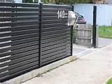 Images of Steel Fence Horizontal