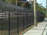 Steel Fence Industrial Pictures