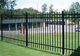 Steel Fence Installation Pictures