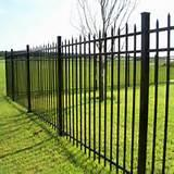 Steel Fence Installation