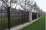 Pictures of Steel Fence In China
