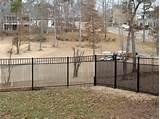 Pictures of Steel Fence Installation