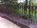 Steel Fence In New York Pictures