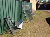 Steel Fence Lot